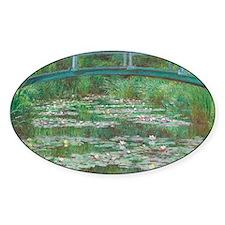Claude Monet - The Japanese Footbri Decal