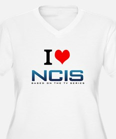 I Love NCIS Plus Size T-Shirt