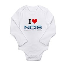 I Love NCIS Body Suit