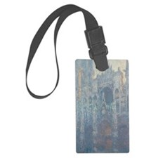 Claude Monet - The Portal of Rou Luggage Tag