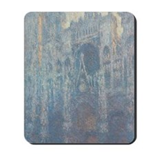 Claude Monet - The Portal of Rouen Cathe Mousepad