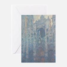 Claude Monet - The Portal of Rouen C Greeting Card