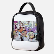 Anime fetuses in limbo Neoprene Lunch Bag