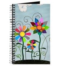 Whimsical Flowers Journal