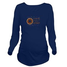 If I Were Food I'd B Long Sleeve Maternity T-Shirt