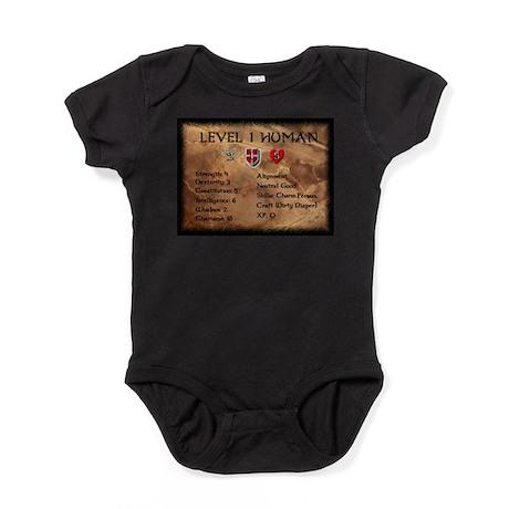 Level One Human Final.jpg Baby Bodysuit