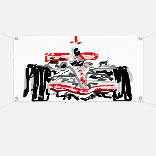 Race car Banner