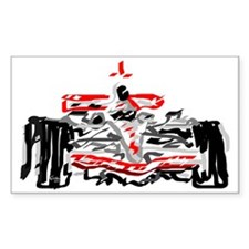 Race car Decal