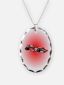 Race Car Necklace