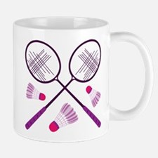 Badminton Rackets Mugs