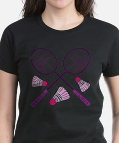 Badminton Rackets T-Shirt