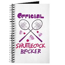 OFFICIAL SHUTTLECOCK BLOCKER Journal