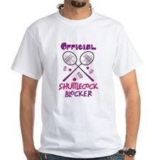 OFFICIAL SHUTTLECOCK BLOCKER T-Shirt