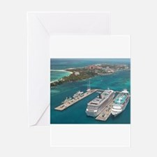Cruise Ships - Greeting Cards