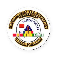 USMC - 1st Shore Party Battalion VN SVC Ribbon Rou