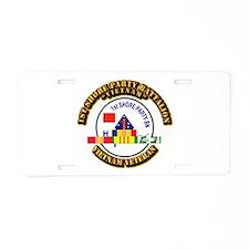 USMC - 1st Shore Party Battalion VN SVC Ribbon Alu