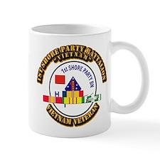 USMC - 1st Shore Party Battalion VN SVC Ribbon Mug