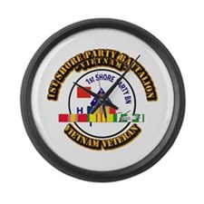 USMC - 1st Shore Party Battalion VN SVC Ribbon Lar