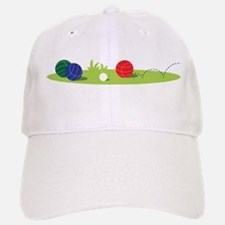 Bocce Ball Game Baseball Baseball Baseball Cap