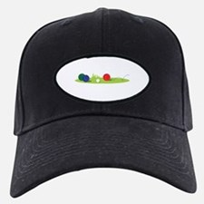 Bocce Ball Game Baseball Hat