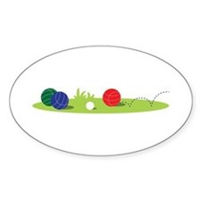 Bocce Ball Game Decal