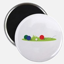 Bocce Ball Game Magnets