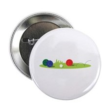 "Bocce Ball Game 2.25"" Button"