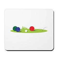 Bocce Ball Game Mousepad