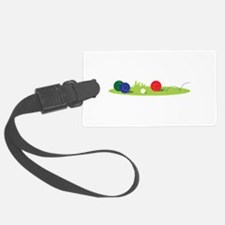 Bocce Ball Game Luggage Tag