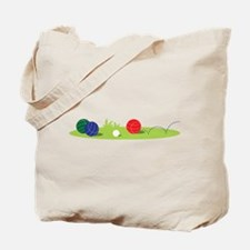 Bocce Ball Game Tote Bag