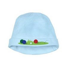 Bocce Ball Game baby hat