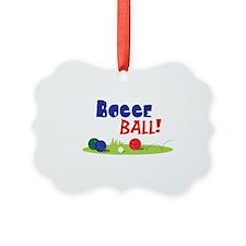 BOCCE BALL! Ornament