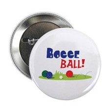 "BOCCE BALL! 2.25"" Button (10 pack)"