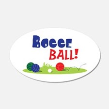 BOCCE BALL! Wall Decal
