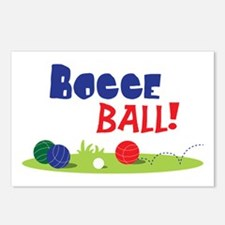 BOCCE BALL! Postcards (Package of 8)