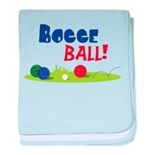 BOCCE BALL! baby blanket
