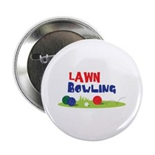 "LAWN BOWLING 2.25"" Button"