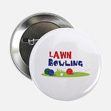 """LAWN BOWLING 2.25"""" Button"""