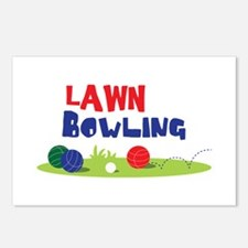 LAWN BOWLING Postcards (Package of 8)