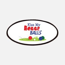 Kiss My BOCCE BALLS Patches