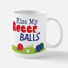 Kiss My BOCCE BALLS Mugs