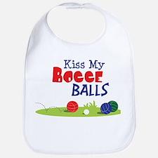 Kiss My BOCCE BALLS Bib