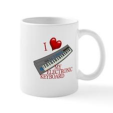 I Love My ELECTRONIC KEYBOARD Mug