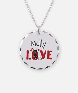Personalize Kitty Love Necklace