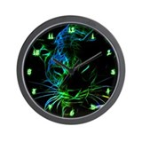 Neon Wall Clocks