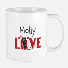 Personalize Kitty Love Mugs - Right Side