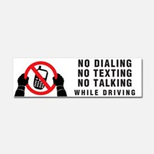 NO Dialing...Car Magnet 10 X 3