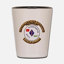 USMC - 1st Shore Party Battalion Shot Glass