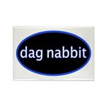Dag nabbit Rectangle Magnet (100 pack)