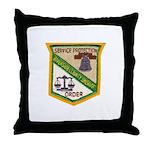 Riverside County Sheriff Throw Pillow